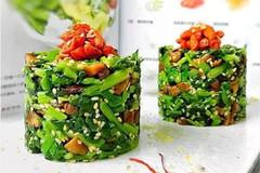美食DIY-凉拌菠菜这样做,清脆可口、营养不流失、色泽如新!