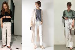 自然系女生必备不显胖单品!白色牛仔裤穿搭技巧,打造清新好感