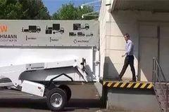 德国发明新型卡车,可根据需要升降变形,装卸货一人就能搞定