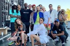 美国科切拉音乐节来了30位大牌超模,满屏逆天长腿堪比维密现场