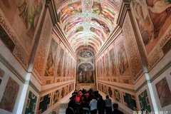 梵蒂冈300年来首次展示圣梯,时间只有几周,之后又会被封印
