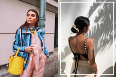 春夏时尚感靠发型就能搞定!6个从时尚达人偷师的造型!