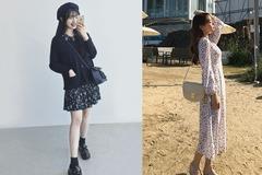 夏天碎花裙这样穿!4个技巧教你穿出时髦不显老气的甜美造型
