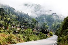台江红阳苗寨,被誉为中国少数民族特色村寨,全国第一批绿色村庄