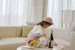 把酒店套房变成亲子乐园是怎样体验,孩子都不想看电视了!