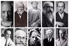 美术史 | 不知道这些人还怎么在艺术圈混?20世纪最伟大的艺术家Top10!