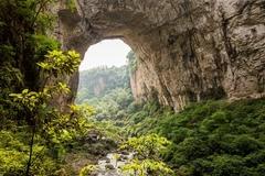 贵州织金名气不大,却有两处奇观,其中一处还是世界级的!