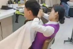 搞笑GIF:这个理发店在哪里,我想去办理一张