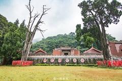 广东梅州有座传奇古寺,屋顶无落叶,树死近四百年不枯朽!