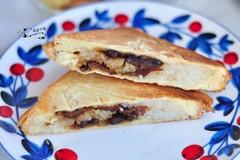 吃不完的粽子别扔,换种新方式来吃,做成三明治,早餐真方便