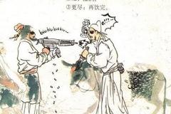 小学生课本涂鸦,杜甫秒变日本武士?老师:你成功引起我的注意了