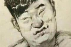 美术生笔下的明星,吴亦凡帅气杨幂风情,看到曾小贤笑出鼻涕泡!