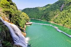 南中国密度最大的峡谷瀑布群,是一个真正景美人少的好地方