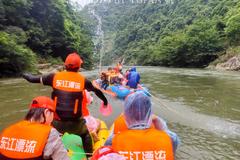 中国生态第一漂的湿身刺激,炎炎夏日里最嗨的旅途记忆