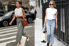 今夏无袖单品盛行,成熟和少女都可以选择,轻松打造时髦通勤穿搭