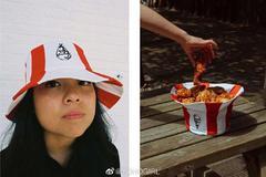 KFC的MVP单品是能戴在头上还能装炸鸡的帽子?