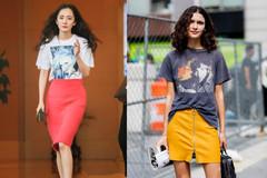 简约T恤中的潮范款,肖像tee让你别具一格,打造街头风时髦小造型