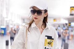 戚薇时尚感真的绝了!时髦到飞起的机场搭配合集,借鉴度满分