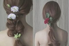 这三款夏日发型让你美出个性,女生清凉的出行美拍造型