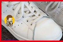 白鞋脏了别用水擦,教你一招,只需加点它,脏鞋瞬间变新鞋,太好用了