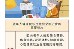 一图读懂丨国务院关于实施健康中国行动的意见主要任务