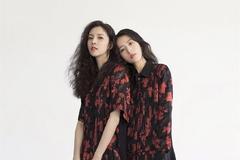周雨彤和宋妍霏合体拍杂志,两个美少女站在那里就足够惊艳
