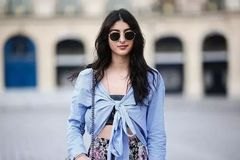 会穿条纹衬衫才是时髦精,学会这4点让你更具风格!