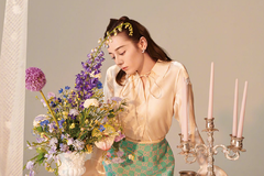 热巴最新写真照化身复古摩登女郎,网友:这是她有史以来最美的照片!