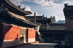 青海唯一一座明代官式群组建筑,仿北京故宫修建,迄今600余年