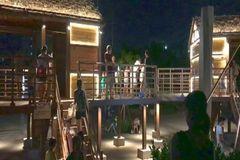 又一处打卡圣地!南宁江滨公园网红木屋夜景超美,不用门票!马上约起!