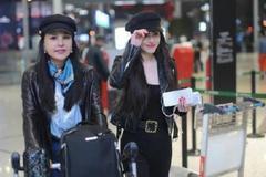 刘翔前妻和妈妈合影照曝光,二人穿着打扮相似,母女如同姐妹