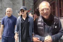 56岁李连杰近照曝光状态年轻,身材发福肚子太大了