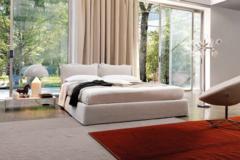 DESIREE DIVANI简约进口卧室双人床-有荣