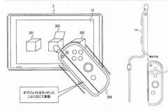 任天堂申请新专利 joycon腕带自带电容笔