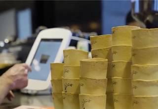 新西兰推出可以吃的咖啡杯,有望每年减少1500万个纸杯的使用