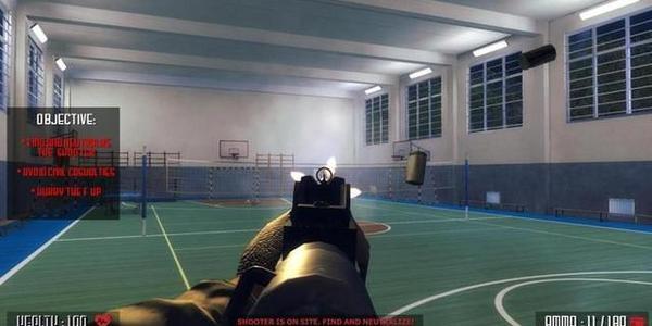 《Active Shooter》因校園槍擊題材已從Steam移除