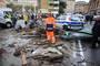 意大利遭遇罕見強降雨洪水 死亡人數升至17人