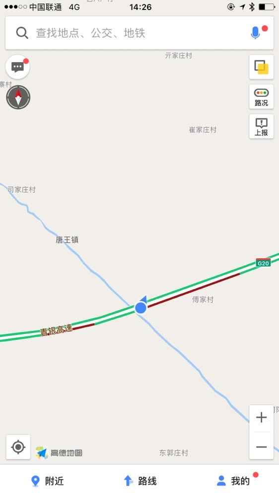 青岛地图全图手绘板