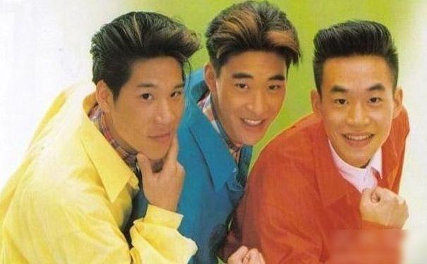 24年前十大偶像,小虎队独缺陈志朋前排都成了天王图片