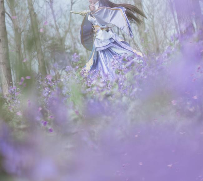露娜·紫霞仙子唯美cos!
