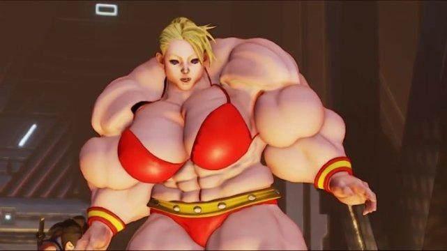 游戏里格斗肌肉女vs现实中健美肌肉女!谁更牛?图片