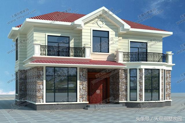 5套农村别墅设计图,任挑一套回家盖 含预算