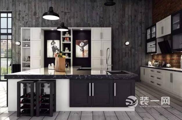 15款工业风厨房装修效果图 让你眼前一亮的设计