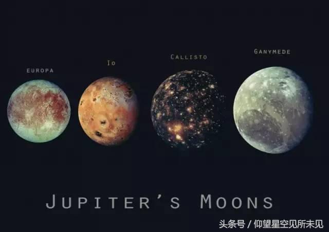 木星本身就像一个小的太阳系