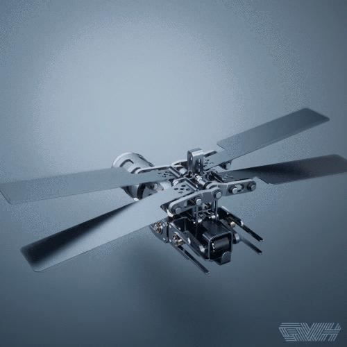 科技 正文  ▲四翼飞行结构 机械cax360,分享机械干货的微信自媒体