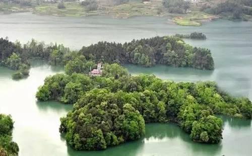 绿荫、碧波、垂钓,渭北高原上这片湖水避暑正合适