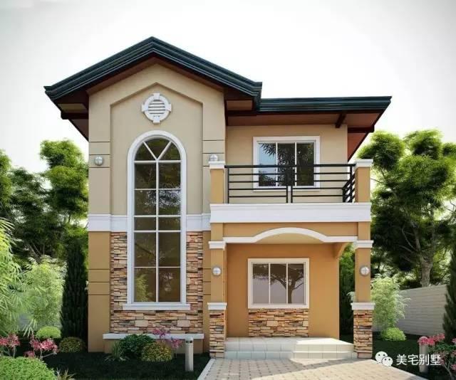 农村的10款二层小别墅,第九款简单实用造价低