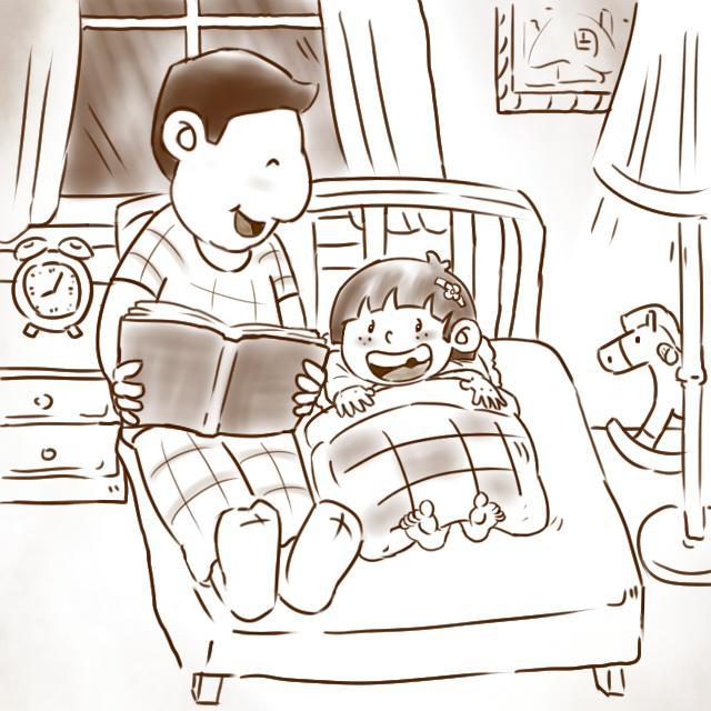 感恩插画手绘儿童