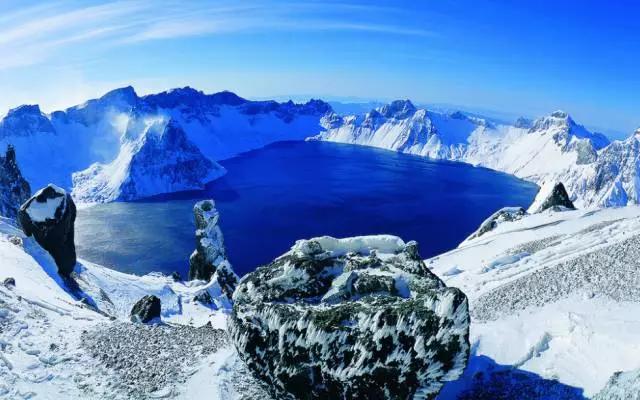 避暑好去处,平均气温只有22℃的长白山,美如画卷