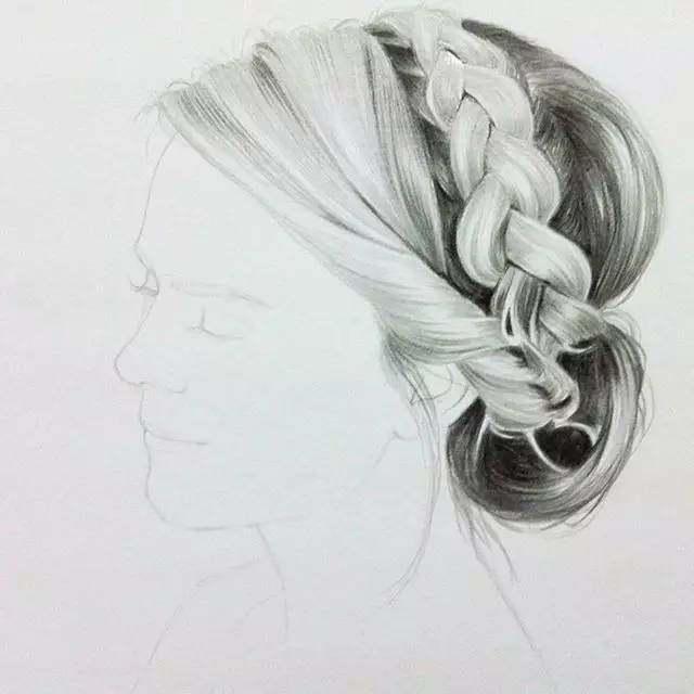 霸气动漫铅笔手绘